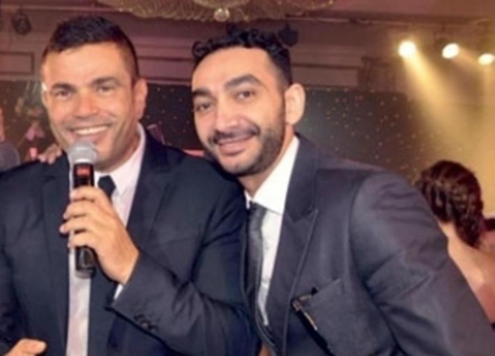 نادر حمدي وعمرو دياب
