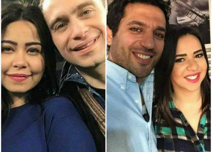 إيمي وحسن وحسام وشيرين