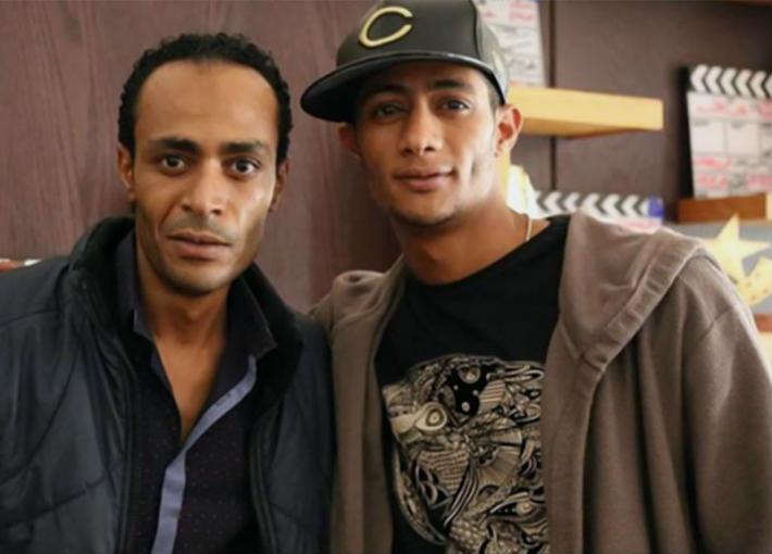 محمد رمضان وشقيقه