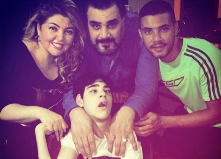 عائلة مجدي كامل ومها أحمد