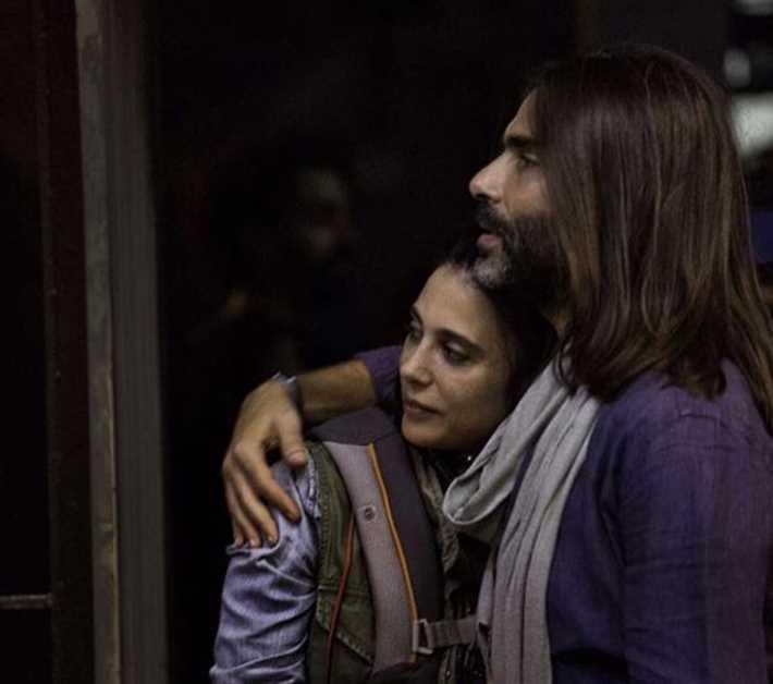نادين لبكي وزوجها
