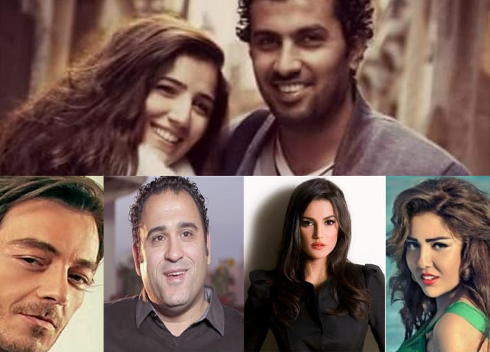 مشاهير الفن يهنئون مي عمر ومحمد سامي