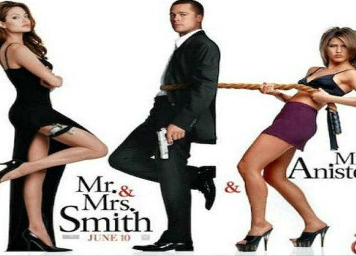 جينيفر أنستون وفيلم Mr & Mrs Smith