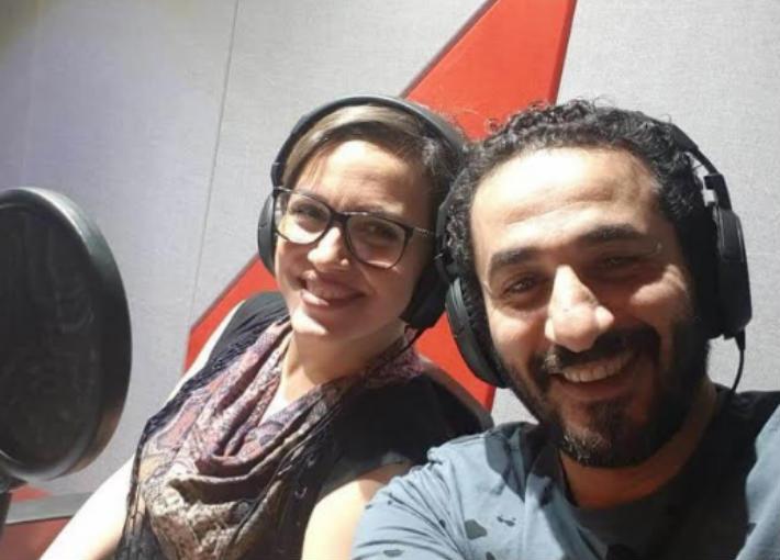أحمد حلمي وريهام عبد الغفور