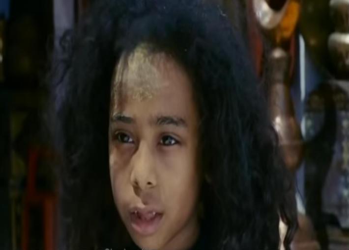 بالصور هكذا أصبح شكل الطفلة سوكا بعد مرور 13 عاما على فيلم أبو علي خبر في الفن