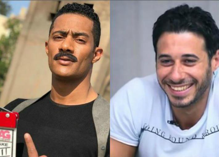أحمد السعدني ومحمد رمضان