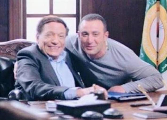 أحمد السقا وعادل إمام