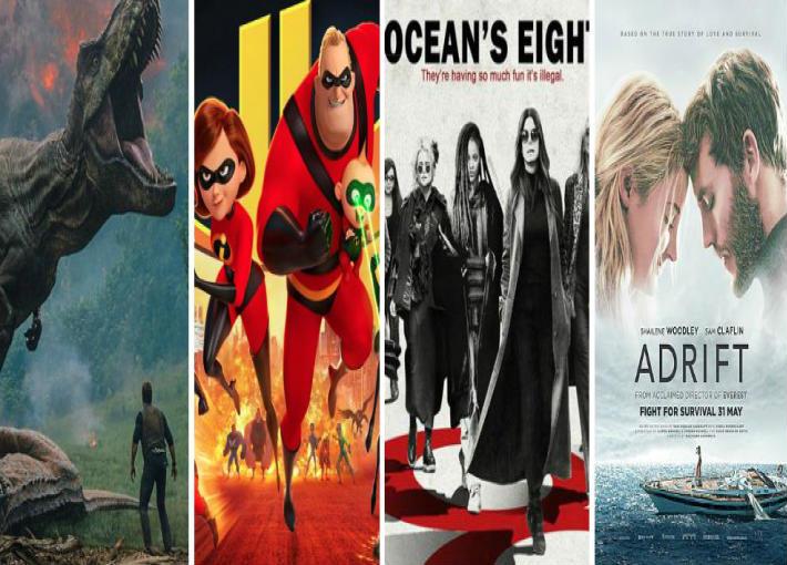 أفلام شهر يونيو في دور العرض العالمية