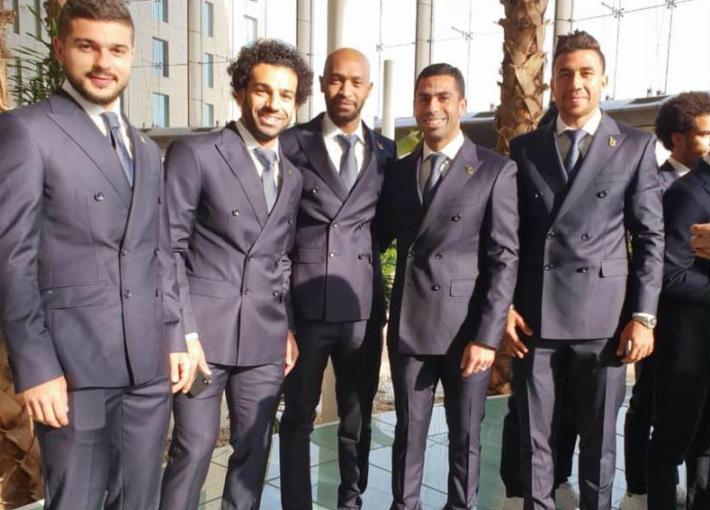 لاعبو منتخب مصر في روسيا
