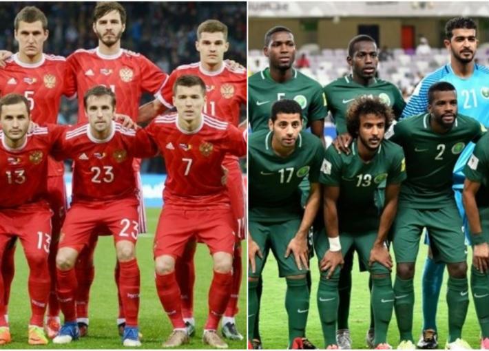 منتخب السعودية ومنتخب روسيا