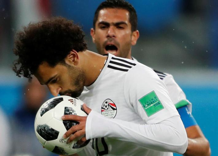 محمود البزاوي يدافع عن أداء محمد صلاح في مباراة مصر وروسيا