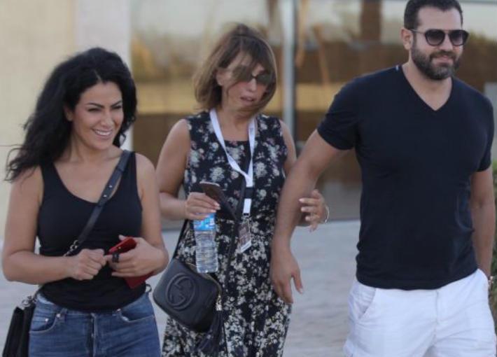 عمرو يوسف وكندة علوش وصبا مبارك
