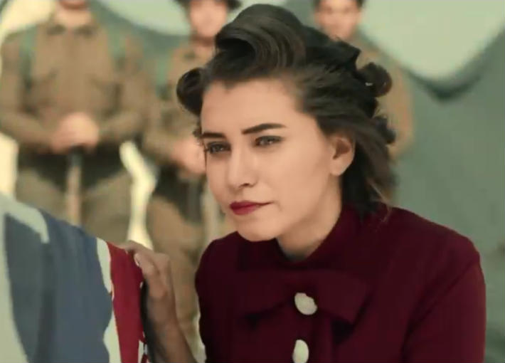 """سارة الشامي في """"حرب كرموز"""""""