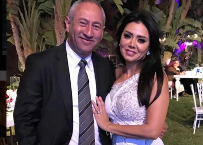 رانيا يوسف وزوجها