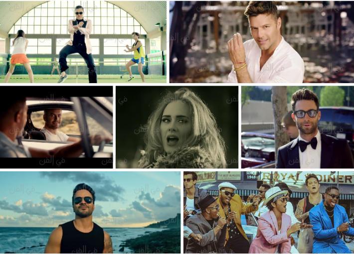 نجوم تخطت أغنياتهم حاجز المليار مشاهدة
