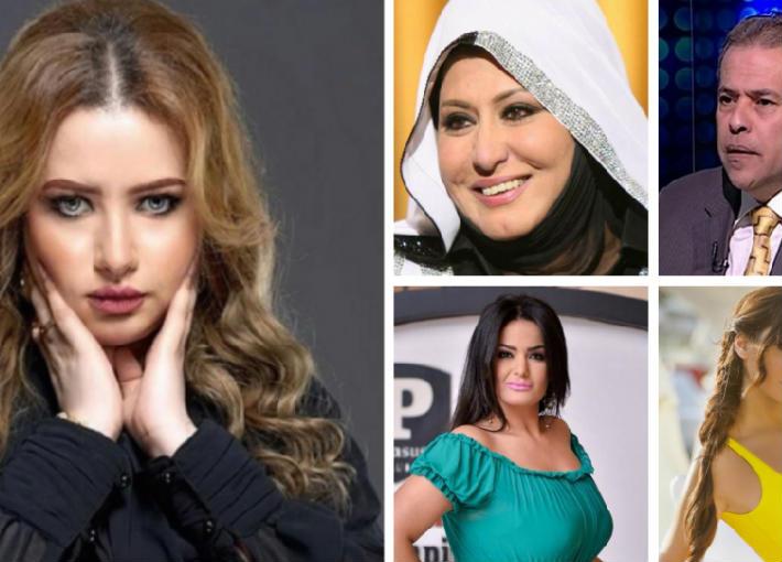 مي عيدان وعدد من المشاهير التى هاجمتهم