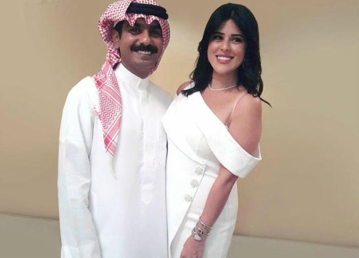 الصور الأولى من عقد قران خالد الشاعر على ابنة  هذا الفنان.. هكذا استعرضت العروس خاتم الزواج