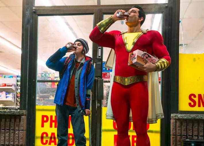 شاعد الإعلان الدعائي الأول لفيلم Shazam!