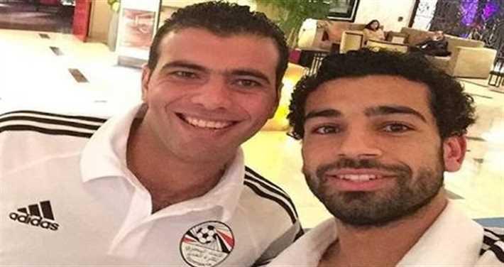 محمد صلاح وعماد متعب