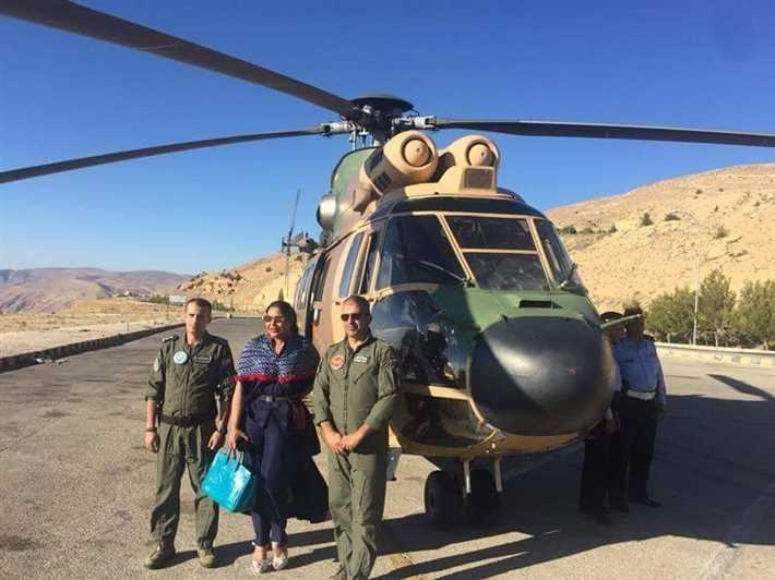أحلام مع الجيش الأردني