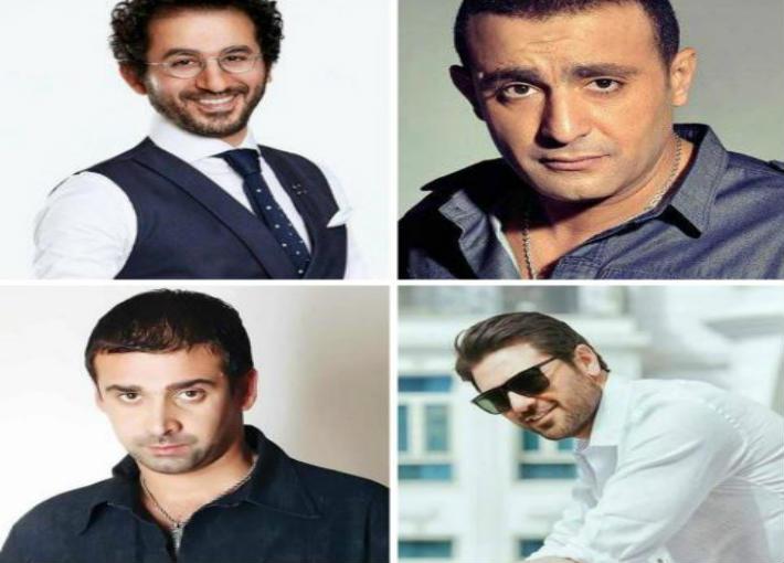 أحمد السقا وأحمد حلمي وأحمد عز وكريم عبد العزيز