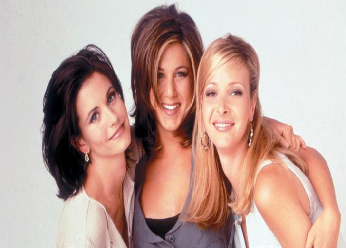 بطلات مسلسل Friends