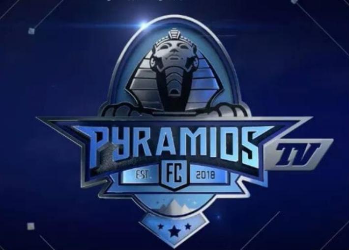"""شعار قناة """"بيراميدز"""""""