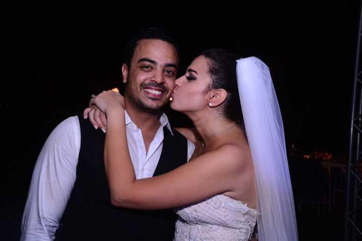 بالصور- زواج ملكة جمال مصر السابقة إلهام وجدي