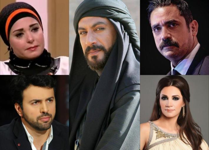 أمير كرارة وصابرين وتيم الحسن وديانا حداد والراحل ياسر المصري