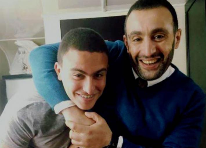 أحمد السقا وابنه ياسين