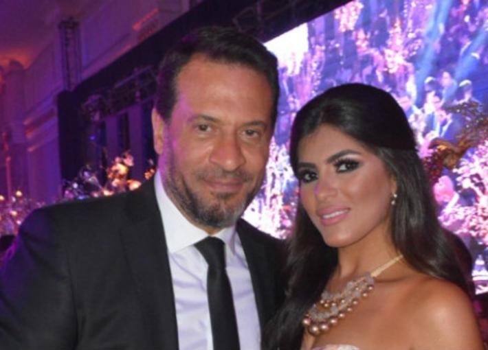 ماجد المصري وزوجته رانيا أبو النصر