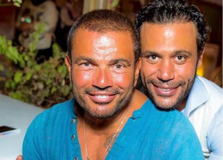 محمد إمام وعمرو دياب
