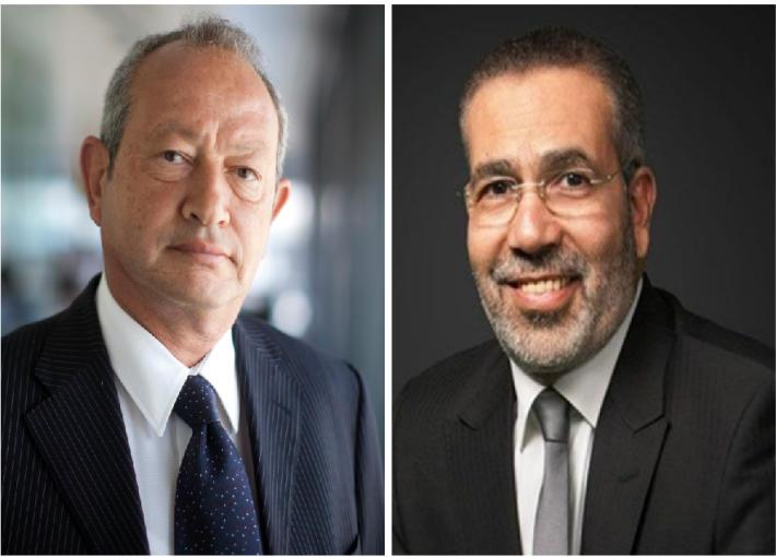 مدحت العدل ونجيب ساويرس