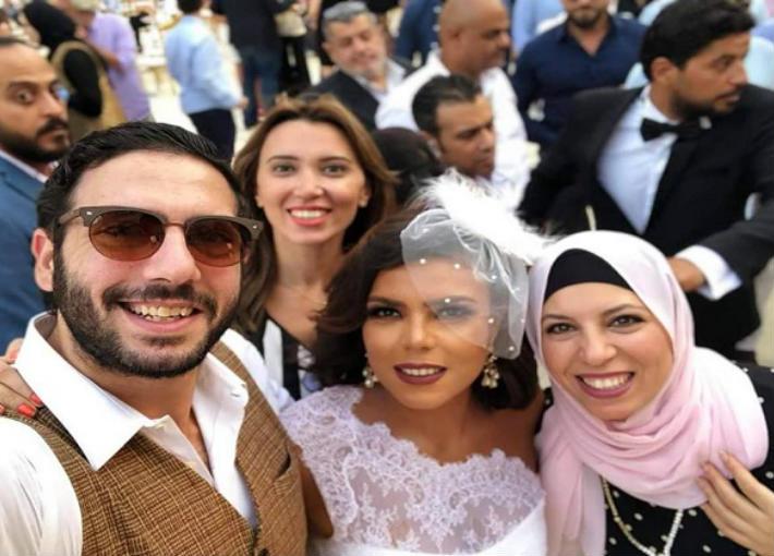 ناهد السباعي وخالتها وابن خالتها أحمد سعيد