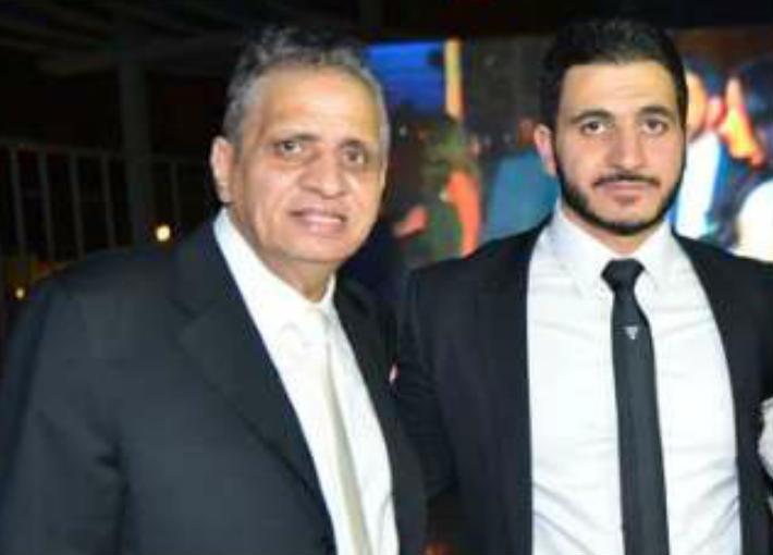 أحمد السبكي وابنه كريم