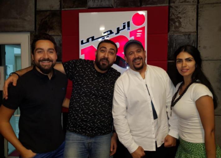 هشام عباس وصبرى زكى وأحمد الوكيل وسارة مجدى