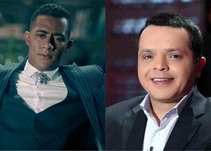 محمد هنيدي ومحمد رمضان