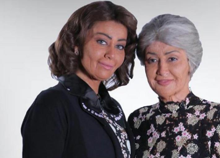غادة عبد الرازق وابنتها من برنامج حكايتي مع الزمان