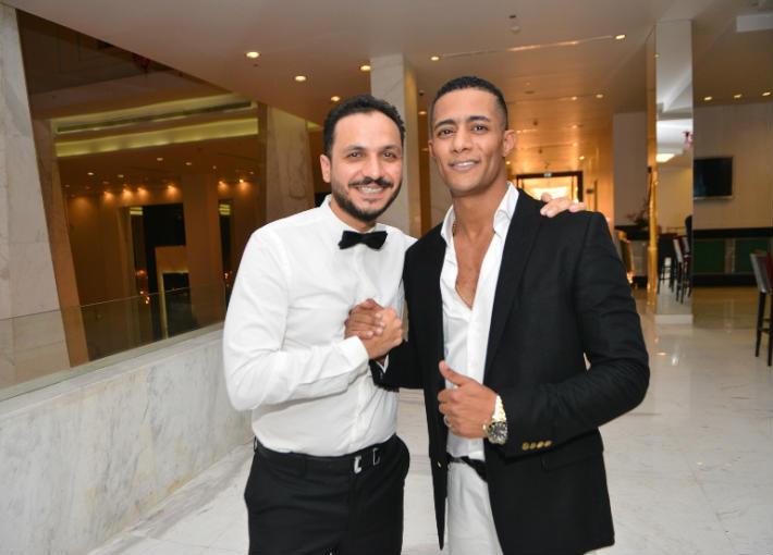 بيتر ميمي ومحمد رمضان