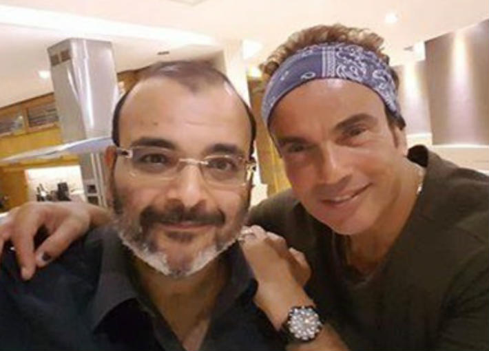 عمرو دياب وأيمن بهجت قمر