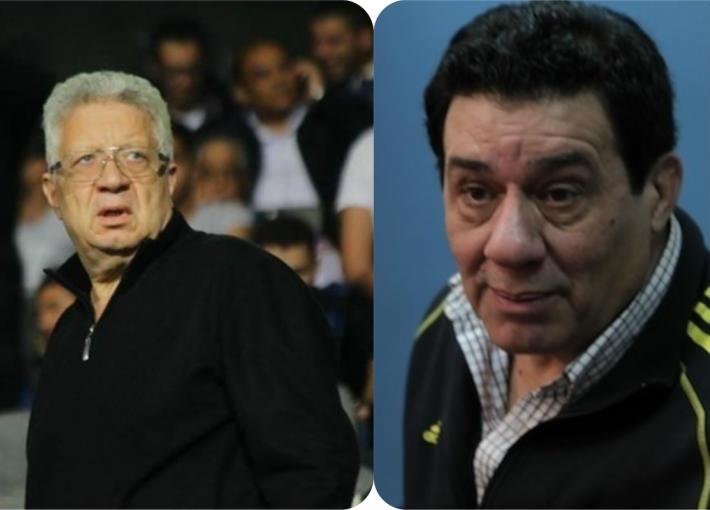 مدحت شلبي ومرتضى منصور