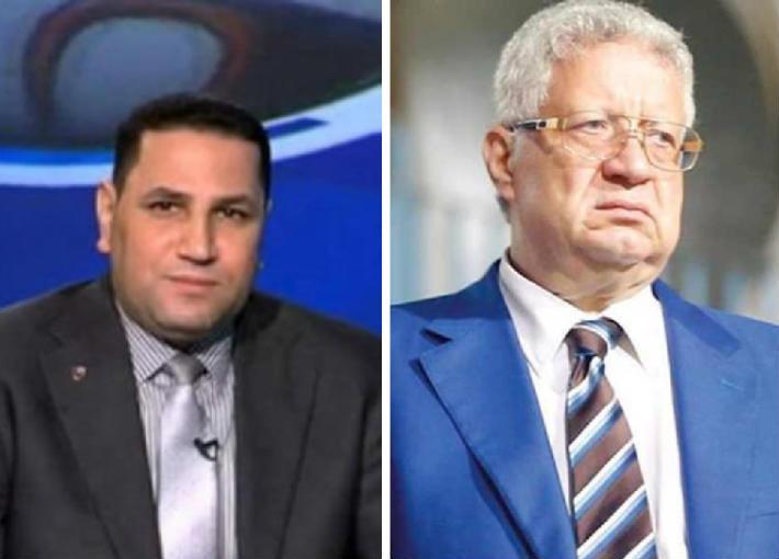 مرتضى منصور وعبد الناصر زيدان
