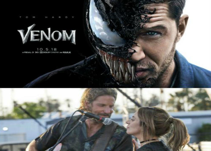 فيلما Venom وA star is born