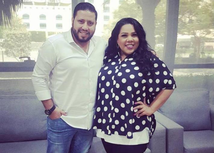 شيماء سيف وزوجها