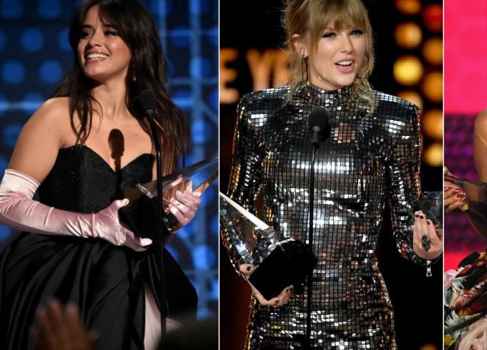 الفائزون بجوائز الموسيقى الأمريكية