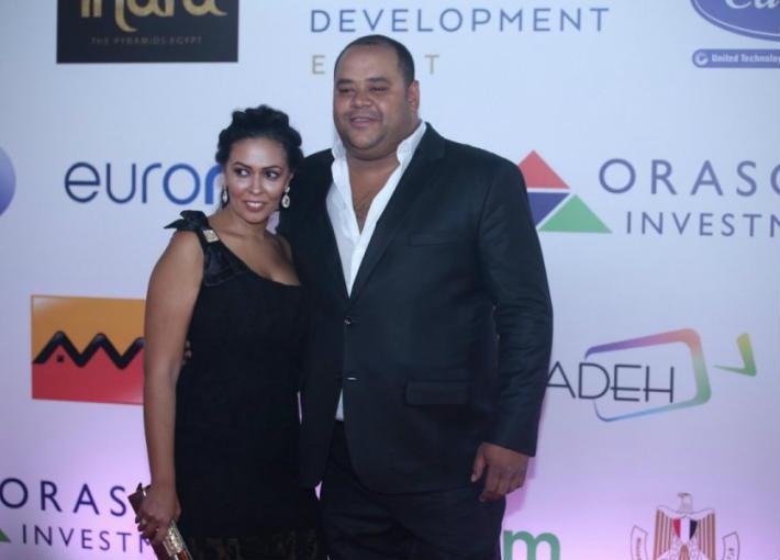 محمد ممدوح وزوجته