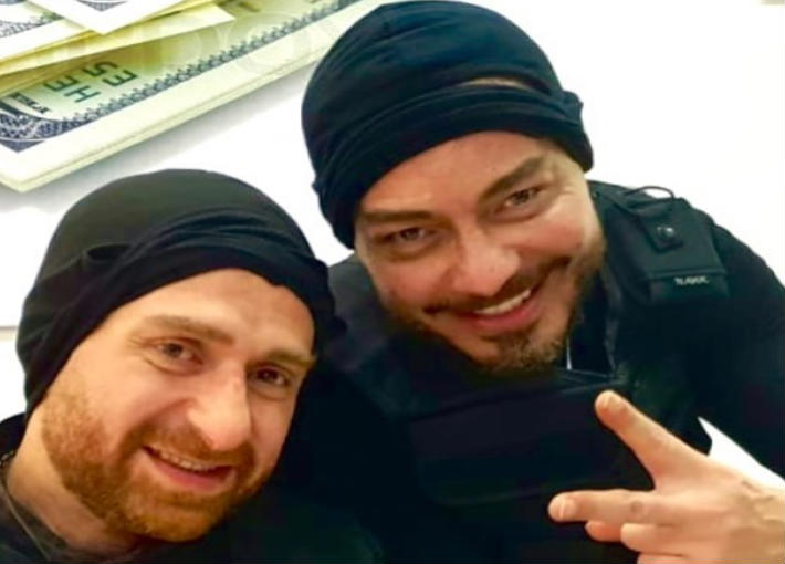 نضال الشافعي وأحمد زاهر