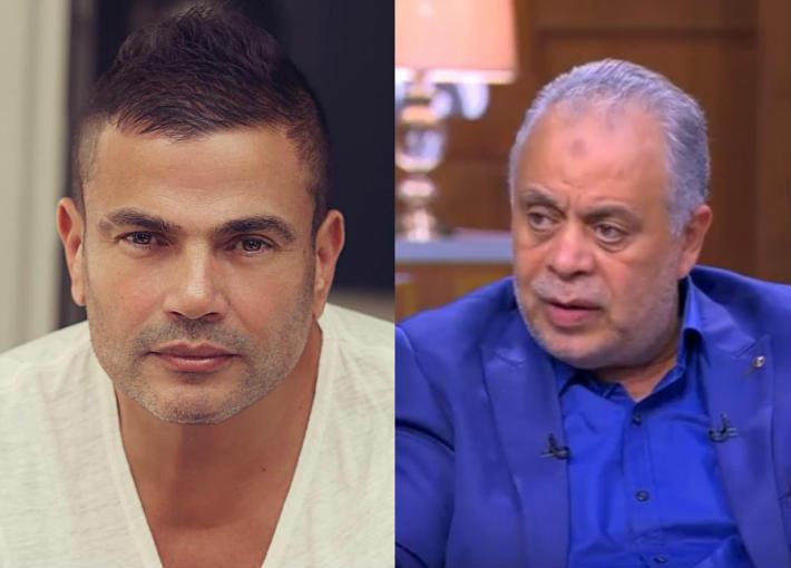 بالفيديو- أشرف زكي عن بدايته مع عمرو دياب :رفض الجلوس على المقاهي لأنه سيصبح نجما