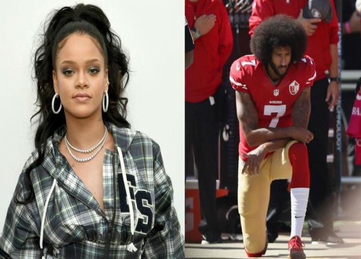 ريانا ترفض الغناء في Super Bowl مساندة لهذا اللاعب