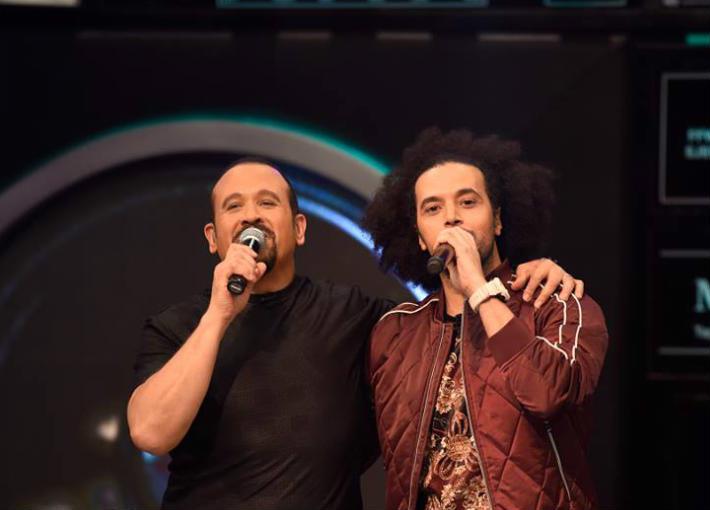 عبد الفتاح الجريني وهشام عباس